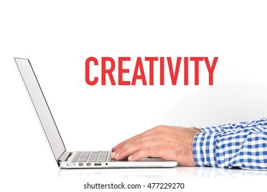 BUSINESS OFFICE BUSINESSMAN WORKING AND CREATIVITY CONCEPT