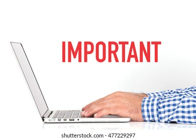 BUSINESS OFFICE BUSINESSMAN WORKING AND IMPORTANT CONCEPT