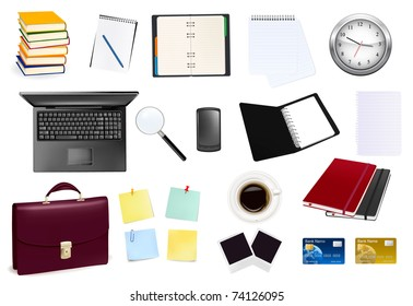 Business and office supplies.