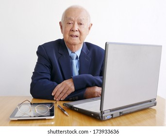 Business Old Man