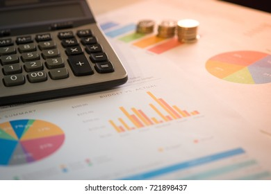 business paper background with computer laptop tablet phone on table with pen book and space technology background