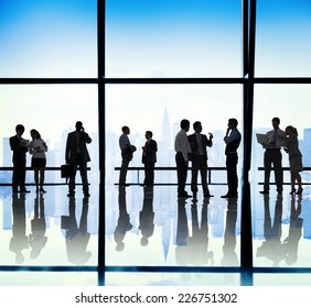 Business People Communication Corporate Office Concept