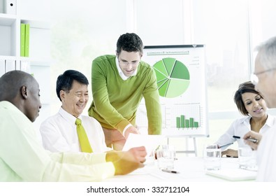 Business People Communication Working Planning Concept