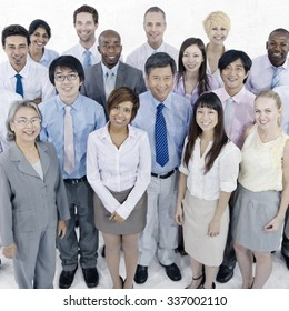 Business People Corporate Teamwork Togetherness Concept