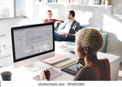 Business People Dashboard Analysis Report Concept - Shutterstock ID 395431306