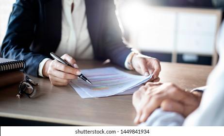 Diskussionsberatungskonzept für Geschäftsleute