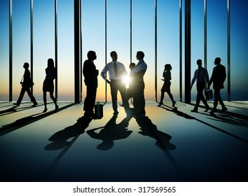 Business People Discussion Corporate Business Concept