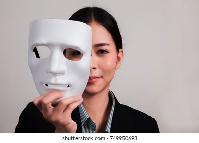 business people with mask