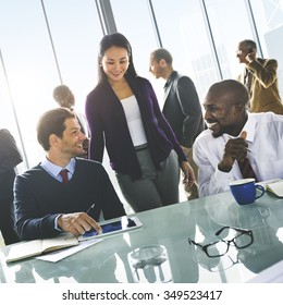 Business People Meeting Communication Concept