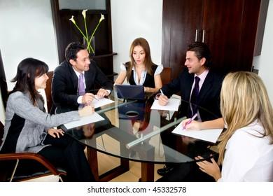 Concept de bureau de réunion de personnes télécharger des photos