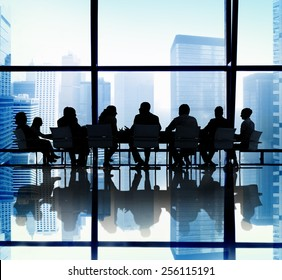 Business People Meeting Office Concept