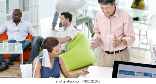 Business People Meeting Team Teamwork Support Concept