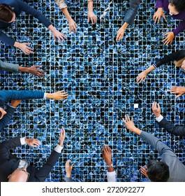 Business People Meeting Working Team Teamwork Concept