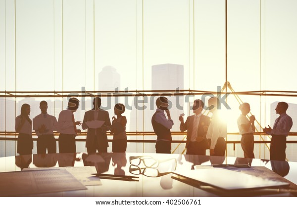 Business People Planning Meeting Conference Concept