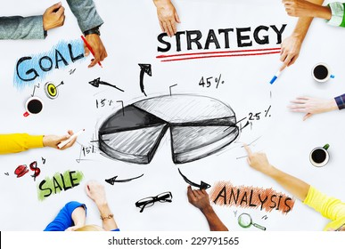 Business People Planning Success