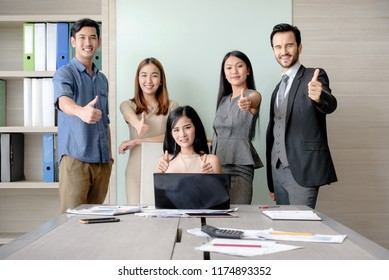 Business people professional successful teamwork concept in office