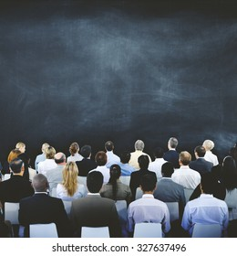 Business People Seminar Meeting Conference Corporate Concept