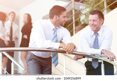 Business people team working in the modern office