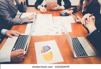 Business People Teamwork, People Meeting Social Communication Connection Teamwork Concept