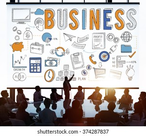 Business People Teamwork Meeting Working Concept