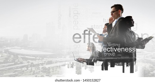 Business people at their work