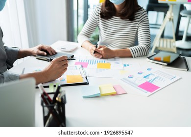business people working together.Meeting Ideas Creative business Successful team