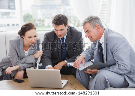 Business People Working Together On Their Stock Photo Edit Now