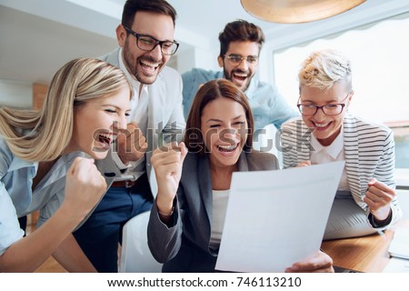 Business People Working Together On Project Stock Photo Edit Now