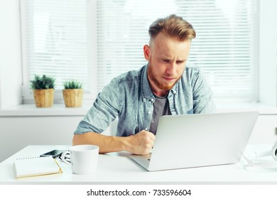 business person working from home