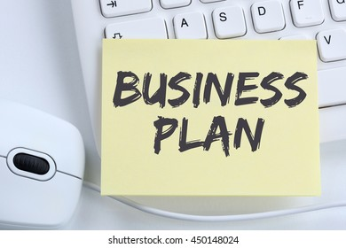 Business plan analysis strategy success company office computer keyboard