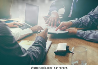 business plan brainstorming meeting team Meeting concept.