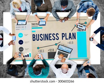 Business Plan Planning Strategy Success Objective Concept