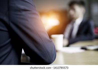 Business Poeple Meeting / Job Interview