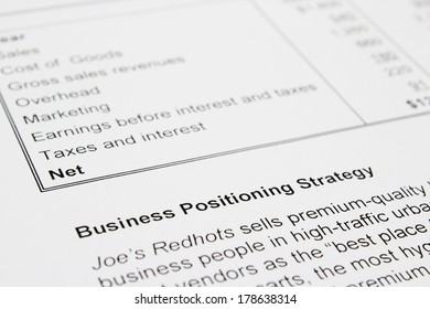 Business Positioning strategy