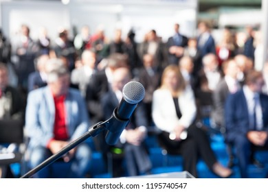 Business presentation or corporate conference