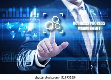 business process management  business concept. bpm.