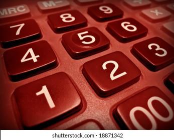 Business red hot calculator
