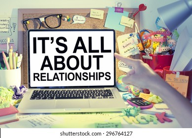 Business Relationships Concept