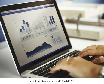 Business Research Data Economy Statistics Concept
