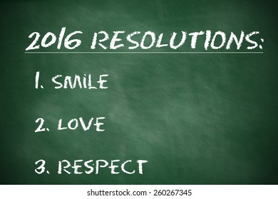 Business Resolutions For 2016