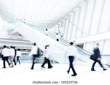Business rush hour.