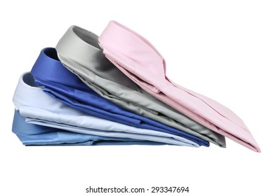 Business Shirts on White Background