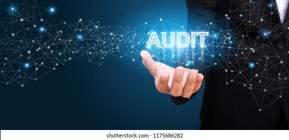 Business showing Audit. Audit concept.