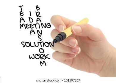 business solution crossword