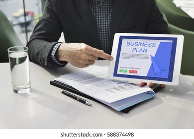 Business Startup Plan Investment Concept
