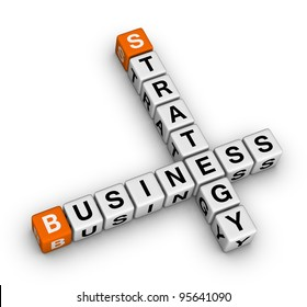 business strategy crossword
