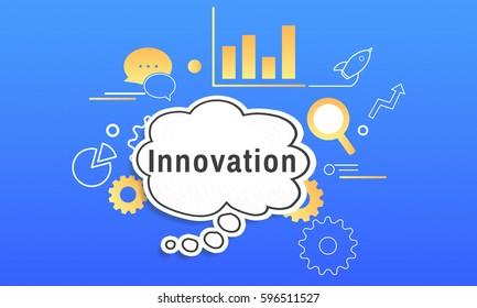 Business Strategy Management Innovation Illustration
