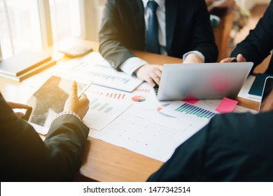 Business Team Corporate Organization Meeting Concept.