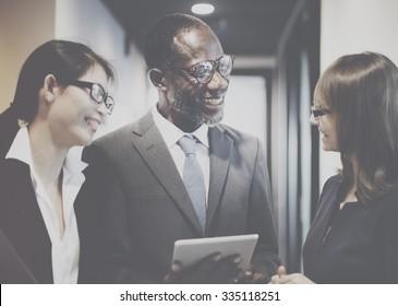 Business Team Corporate Organization Working Concept