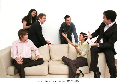 Business Team Discussion